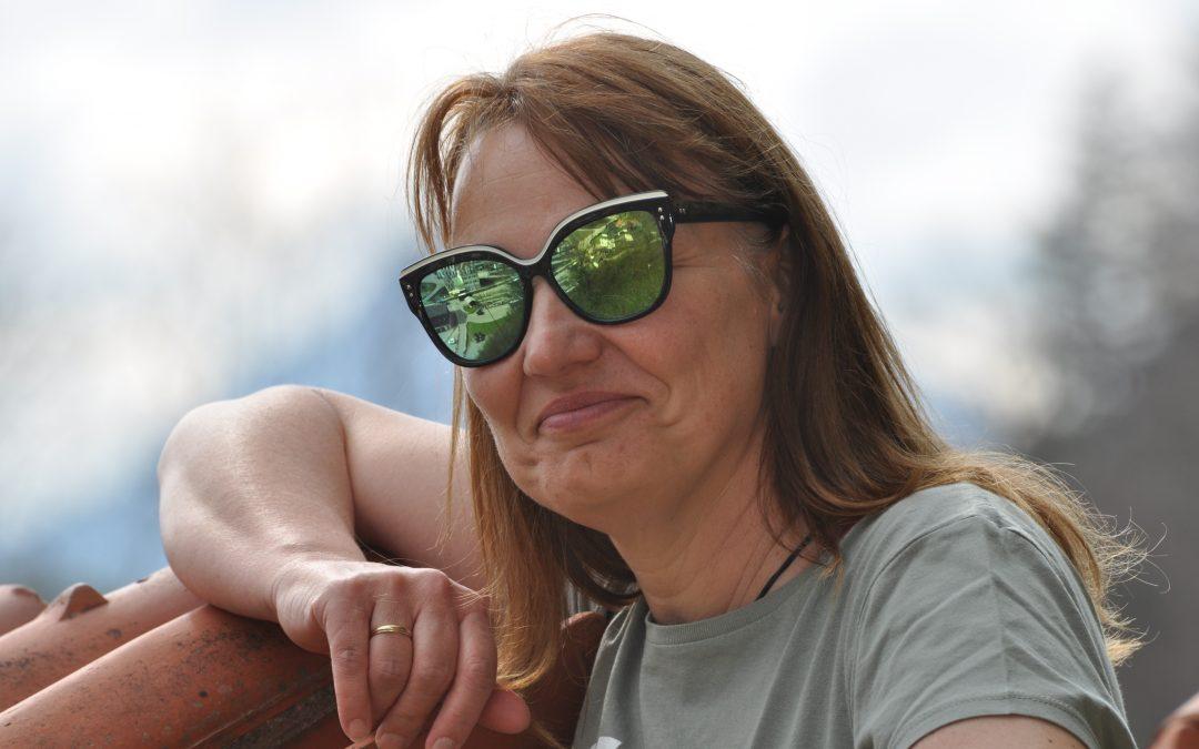 Interview mit der Cheffin der Zielverpflegung Ulli Maier